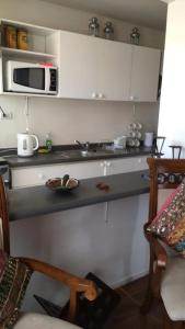 A kitchen or kitchenette at Condominio Mirador de Coquimbo