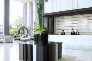 The lobby or reception area at Classic Kameo Hotel & Serviced Apartment, Rayong