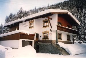 Haus Ladner during the winter
