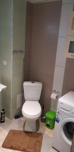 A bathroom at Haava Apartment