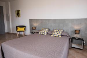 Un ou plusieurs lits dans un hébergement de l'établissement Résidence Les Alizés