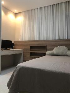 En eller flere senge i et værelse på Ed chopin