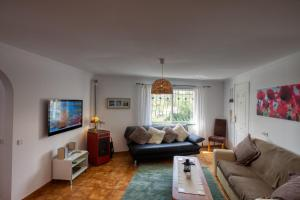 A seating area at Sitges Villa Apartment
