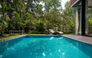 The swimming pool at or near Saxofone Villa in Anjuna !