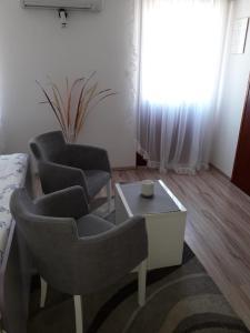 Zona de estar de Studio Apartments Kuljiš