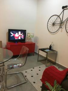 TV o dispositivi per l'intrattenimento presso Simons Apartments