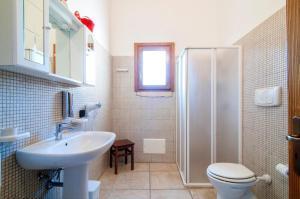 Koupelna v ubytování Antica Corte Appartament