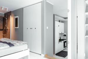 Ein Bett oder Betten in einem Zimmer der Unterkunft Elegant Apartment - Prestigious Neighbourhood - Netflix