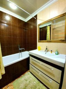 Ванная комната в Apartment Ushakova 16