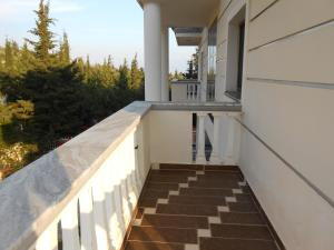 A balcony or terrace at Private Apartments Drymades