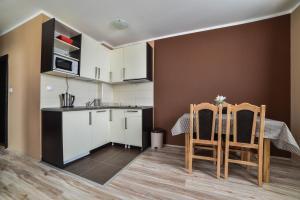 Ett kök eller pentry på JollyKop Apartments