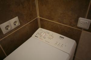 A bathroom at Eka-apartment near centr