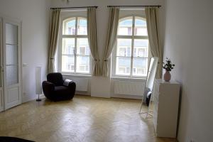 Ruang duduk di Dlouhá 35