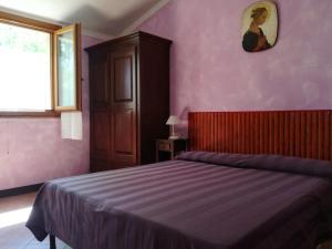 Postel nebo postele na pokoji v ubytování Casetta Francini