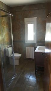 A bathroom at Villa Palmera