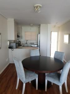 A kitchen or kitchenette at Lagoon Beach Hotel Apartments