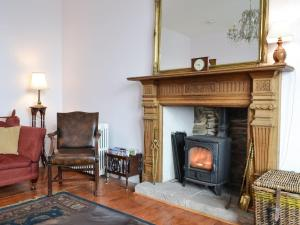 A seating area at Fircliff - The House on Bute