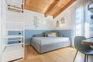 Krevet ili kreveti u jedinici u okviru objekta La maison des coquillages