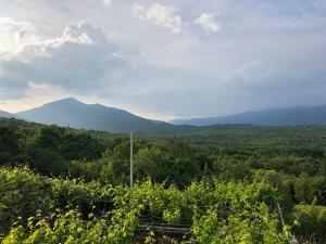 O vedere generală la munți sau o vedere la munte luată de la acest apartament