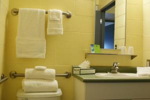 Een badkamer bij Residence & Conference Centre - Sudbury West