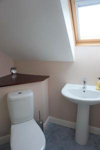 A bathroom at The Beltie Byre