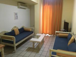 O zonă de relaxare la Jason Hotel Apartments