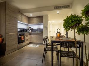 Köök või kööginurk majutusasutuses Art de vivre