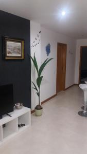 A television and/or entertainment center at Appartement Espinho