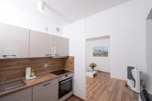 Cucina o angolo cottura di Apartments am Brandenburger Tor