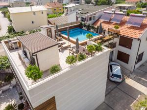 A view of the pool at Apartments Davor or nearby