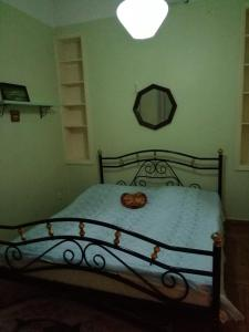 Кровать или кровати в номере Apartment on Rustaveli 41