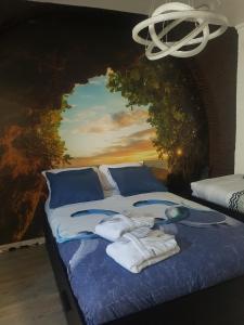 Postelja oz. postelje v sobi nastanitve Moonlight