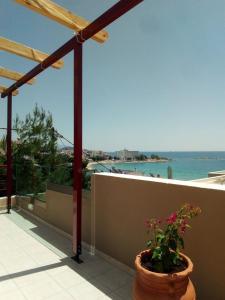 A balcony or terrace at Markela's Paradise