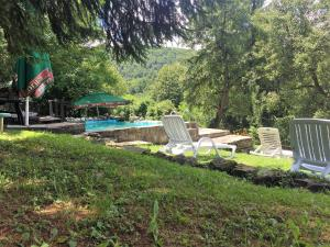 The swimming pool at or near Parlapanova Guest House - Pool Access