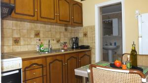 A kitchen or kitchenette at Friend's Apartment