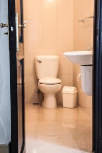 A bathroom at Bocamada