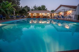 The swimming pool at or near Camping Kariotes studios