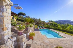 The swimming pool at or near Villa Dei Galli