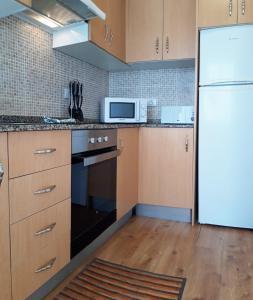 Una cocina o zona de cocina en Apartamento Jaspe by Sea You There Fuerteventura