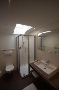 Ein Badezimmer in der Unterkunft Appartementhaus Nadine