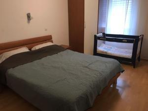 Postelja oz. postelje v sobi nastanitve Appartment Streliska