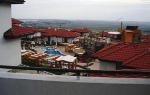 A view of the pool at Apartment Kosharitsa Village Bay View Villas III or nearby