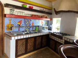 Una cocina o zona de cocina en Espuma Hotel - Adults Only