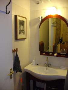 A bathroom at Apartman7