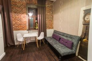 A seating area at Good Time Aparthotel