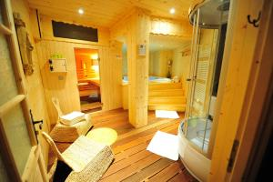 Salle de bains dans l'établissement Résidence Le Saporta - Appartements