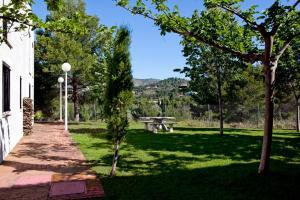 Jardín al aire libre en Apartamentos Golf Place