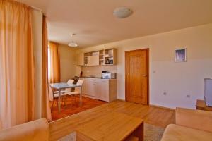 A kitchen or kitchenette at Sea Grace Aparthotel