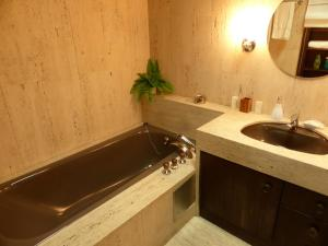 A bathroom at Penthouse Apartment in Vaduz