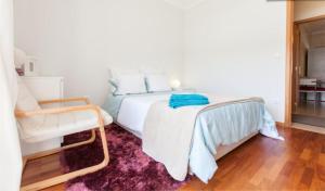Llit o llits en una habitació de Midway to Geres and Braga